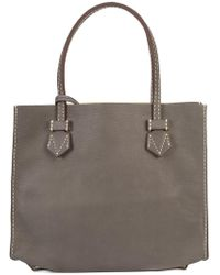 Moreau | Stitch Detail Square Shoulder Bag | Lyst