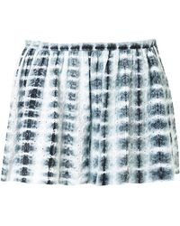 Thakoon - Eyelet Tie-dye Shorts - Lyst