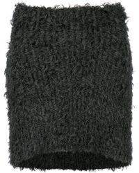 Eckhaus Latta - Knitted Mini Skirt - Lyst