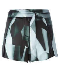 Ann Demeulemeester - Belted Shorts - Lyst