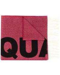 DSquared² - Logo jacquard scarf - Lyst