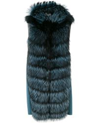 Manzoni 24 - Fur Trim Jacket - Lyst