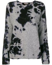 Suzusan - Tie-dye Knitted Sweater - Lyst