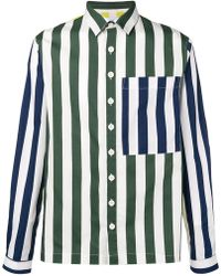 Sunnei - Striped Loose Shirt - Lyst