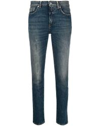 Department 5 - Cropped Jeans - Lyst