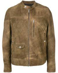 Mauro Grifoni - Brushed Leather Jacket - Lyst