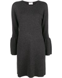 Allude - Wide-sleeve Dress - Lyst