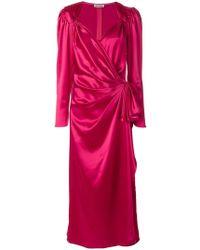 Attico - Pat Sweetheart Neck Dress - Lyst