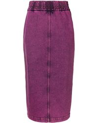 N°21 Pencil Denim Skirt
