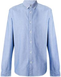 Calvin Klein Jeans - Long-sleeve Fitted Shirt - Lyst