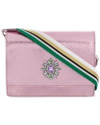 Gum - Gem Embellished Crossbody Bag - Lyst