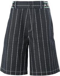 Andrea Crews - Striped Shorts - Lyst