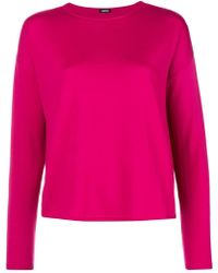 Aspesi - Boat Neck Knitted Top - Lyst