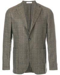Boglioli - Checked Suit Jacket - Lyst