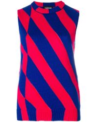 4c9bfeb7eb927 Lyst - Women s CALVIN KLEIN 205W39NYC Sleeveless and tank tops On Sale