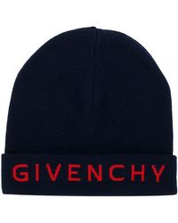 Givenchy - Embroidered Logo Beanie - Lyst