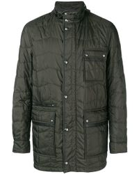 Ferragamo - Quilted Jacket - Lyst