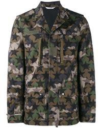Valentino - 'camustars' Military Jacket - Lyst