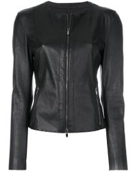 DROMe - Fitted Zip Jacket - Lyst