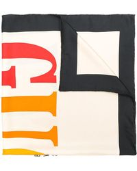 Gucci - Cities Print Scarf - Lyst