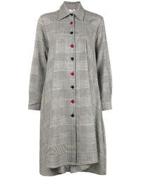 Ultrachic - Tartan Shirt Dress - Lyst