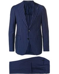 Tagliatore - Two-piece Pinstriped Suit - Lyst