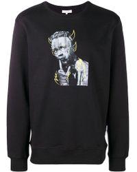 Les Benjamins - Graphic Print Sweatshirt - Lyst