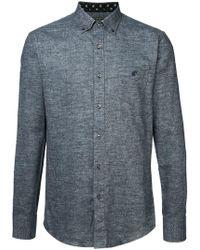 Loveless - Mesh Knit Shirt - Lyst