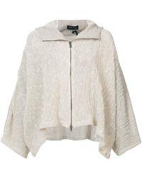 Andrea Ya'aqov - Oversized Zip Jacket - Lyst