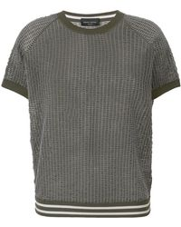 Roberto Collina - Sheer Knit T-shirt - Lyst