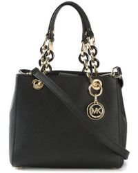MICHAEL Michael Kors - Cynthia Small Leather Tote - Lyst