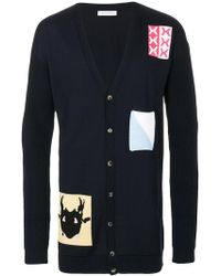 J.W. Anderson | Multi Patched Cardigan | Lyst
