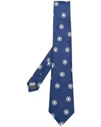 Canali - Dotted Tie - Lyst