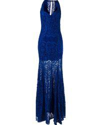 Martha Medeiros - Lace Maxi Dress - Lyst