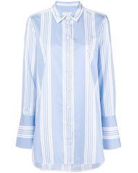 Equipment - Striped Long-sleeved Shirt - Lyst