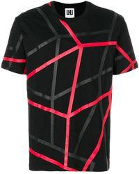 Les Hommes - Printed T-shirt - Lyst