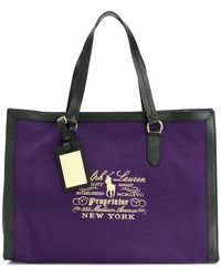 Ralph Lauren | Embroidered Tote Bag | Lyst