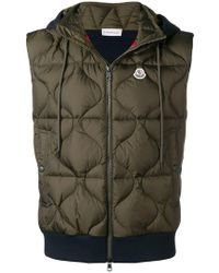 Moncler Chartreuse sportowe