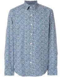 Michael Kors - Scribble-print Shirt - Lyst