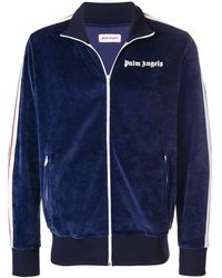 Palm Angels - Logo Stripe Zip Track Jacket - Lyst