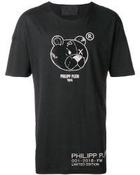 Philipp Plein - Rhinestone Bear T-shirt - Lyst