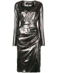 FEDERICA TOSI - Antracite Dress - Lyst
