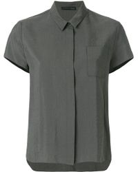 Fabiana Filippi - Pointed Collar Shirt - Lyst