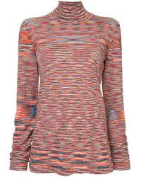 Missoni - Striped Knit Jumper - Lyst