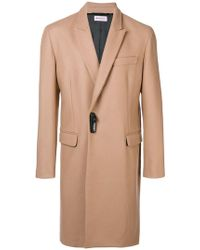 Palm Angels - Woven Smart Coat - Lyst