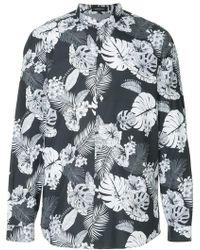 Loveless - Palm Leaf Print Shirt - Lyst