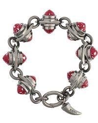 Eshvi - Hematite Bracelet - Lyst