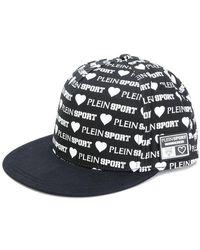 Philipp Plein - Allover Logo Print Cap - Lyst