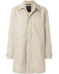 Z Zegna - Classic Fitted Coat - Lyst