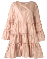Chloé - Tiered Parachute Dress - Lyst